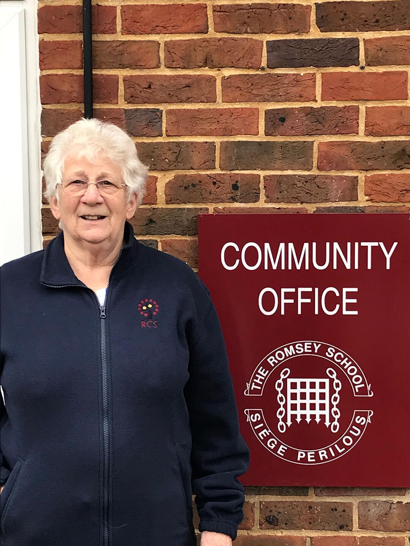 Margaret Butcher : Finance Officer