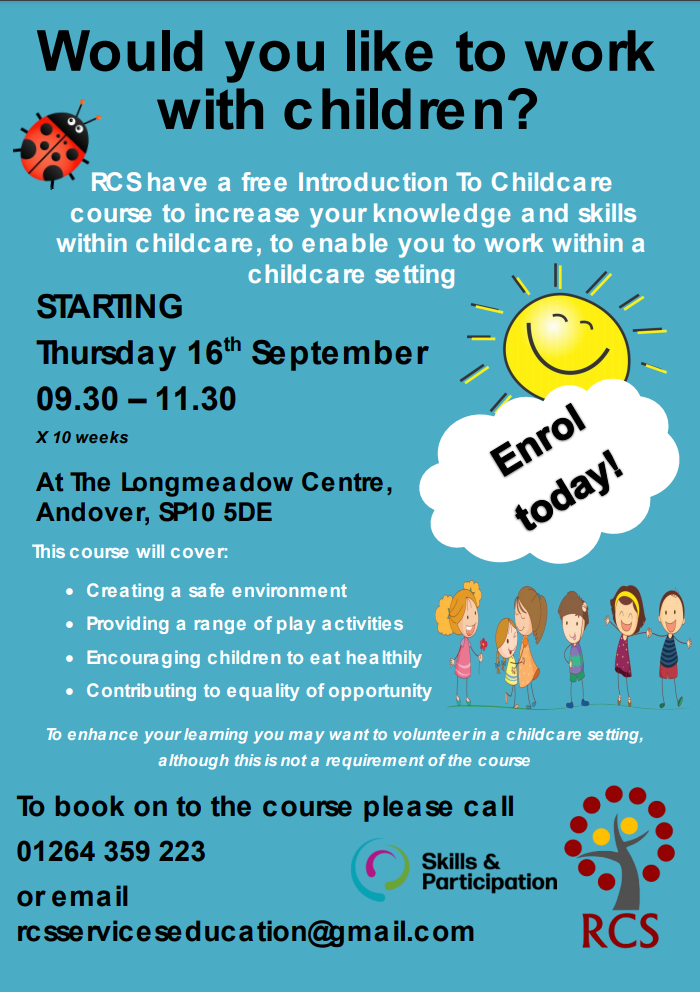 Introduction To childcare - Andover