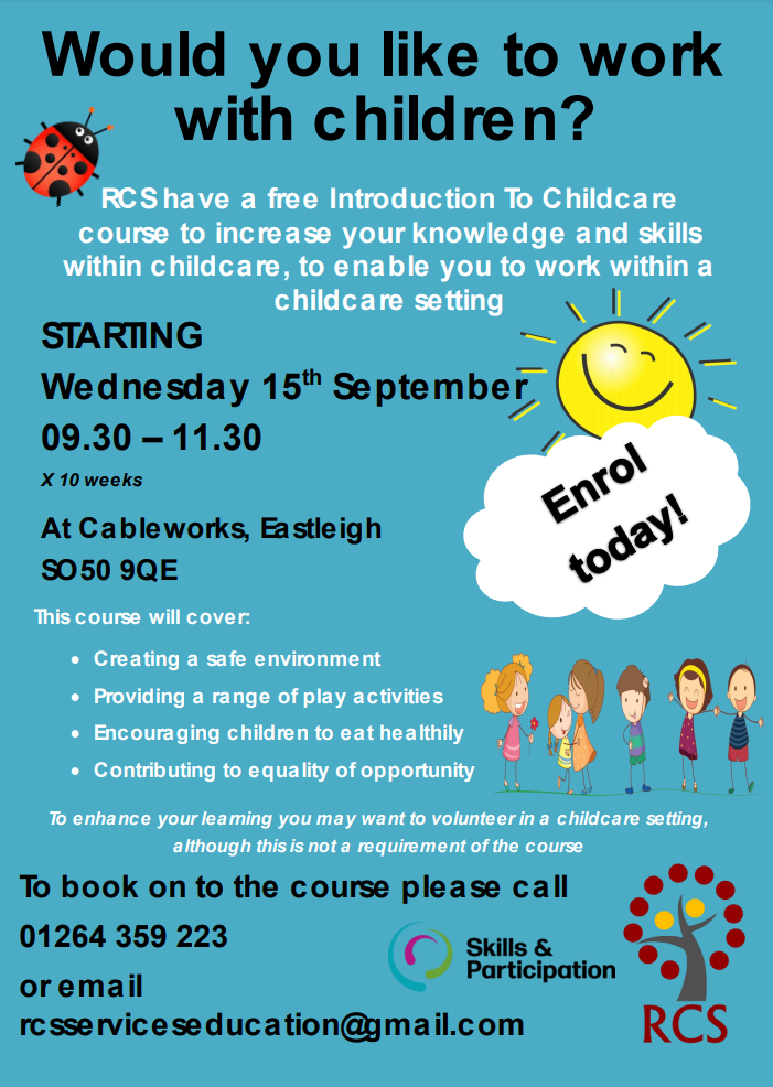 Introduction To childcare - Eastleigh