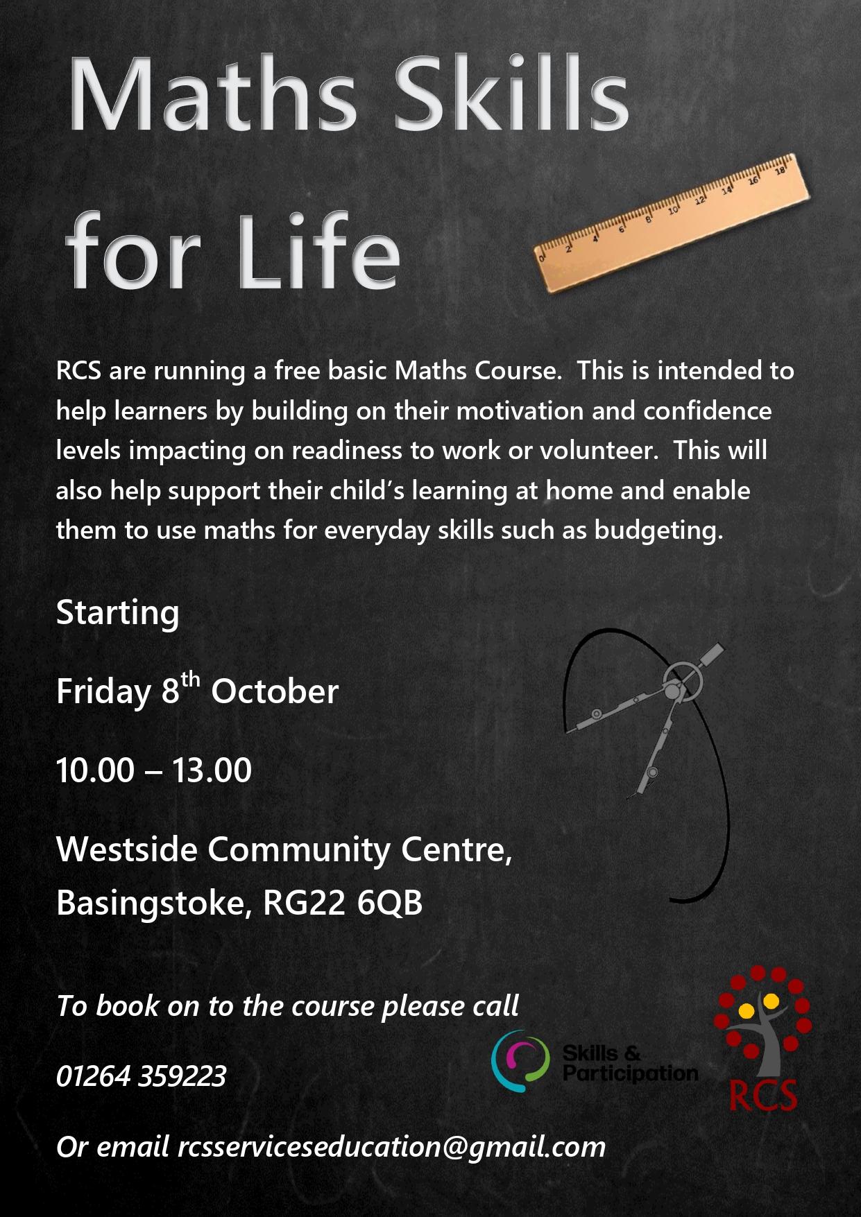 Maths Skills for Life - Basingstoke