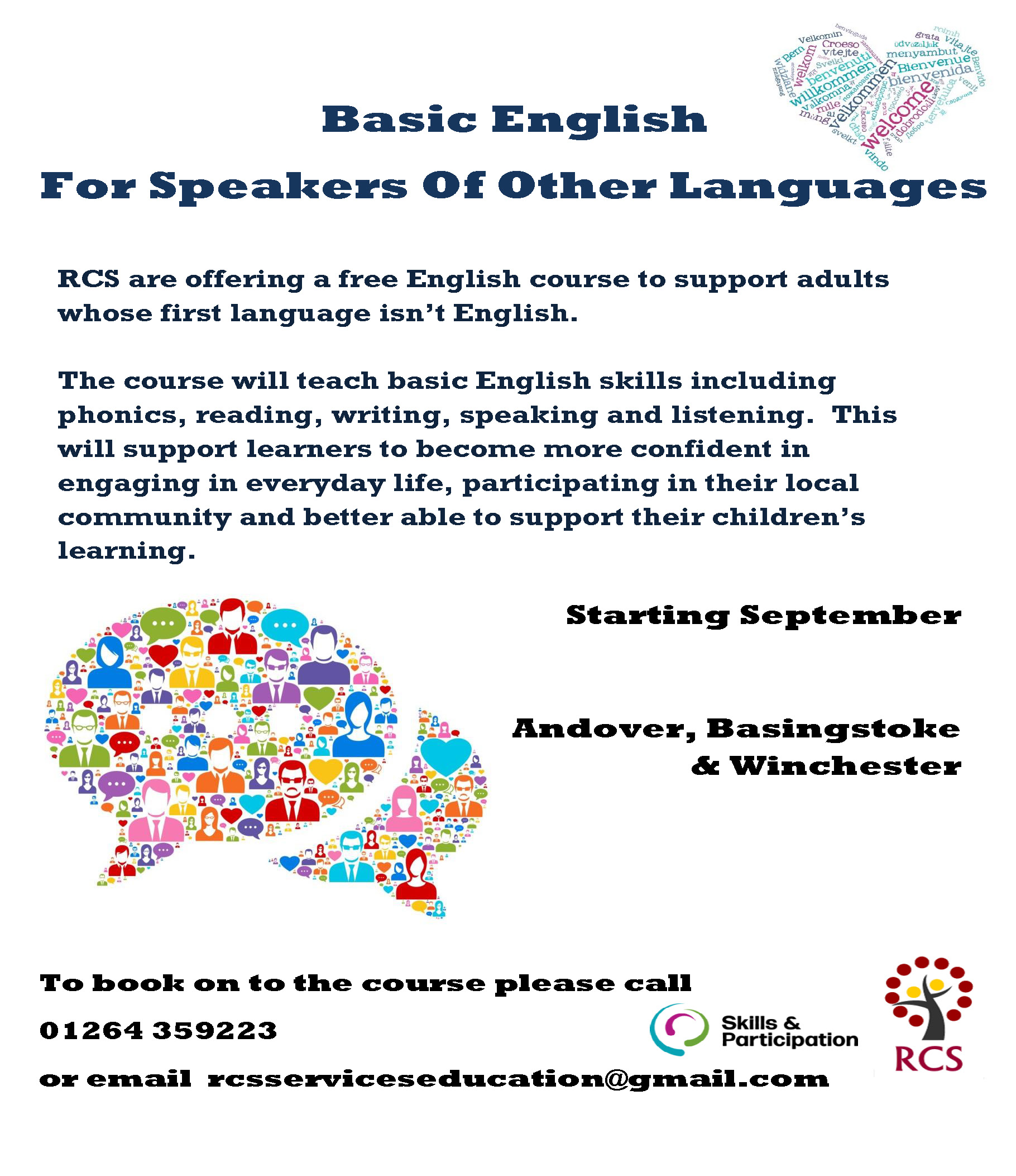 Basic English for Speakers Of Other Languages